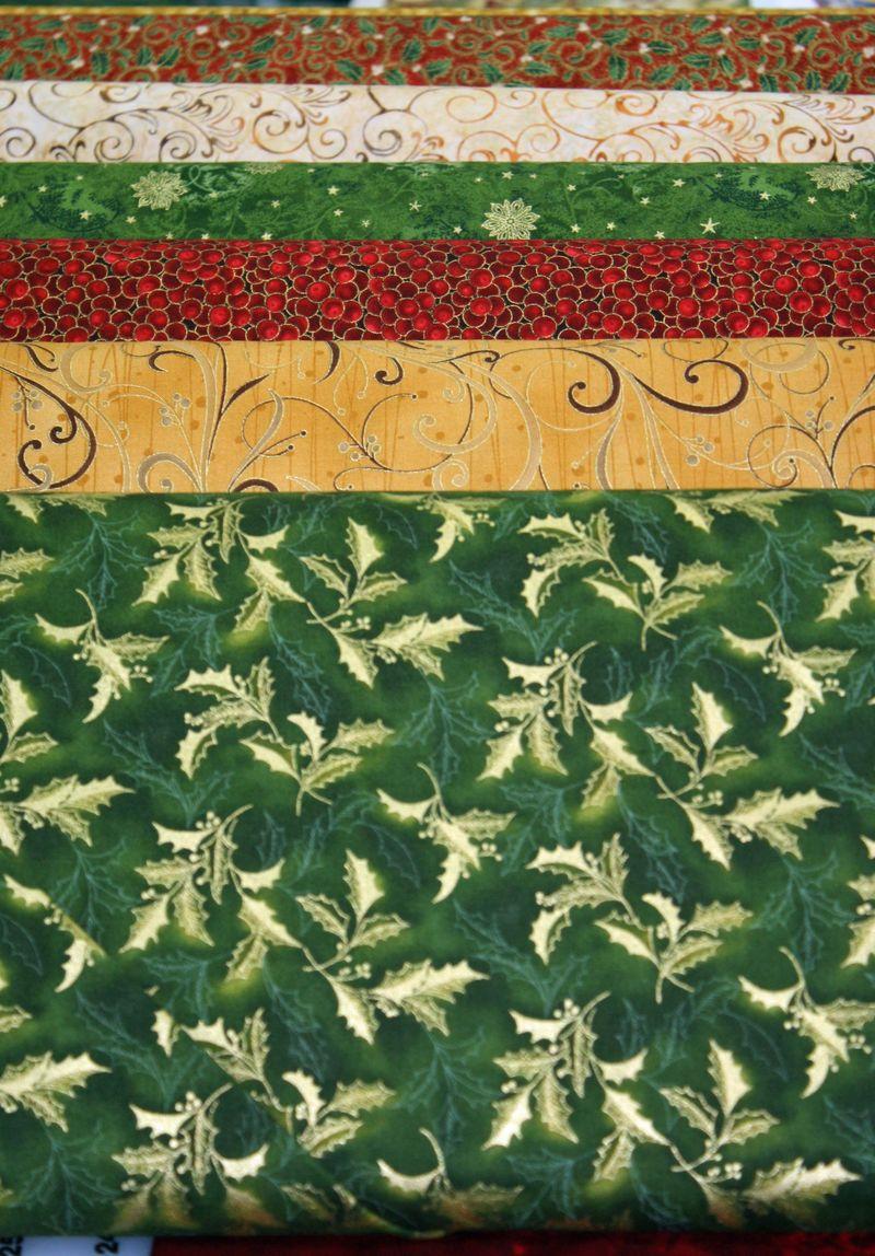 Christmas Fabric 2A