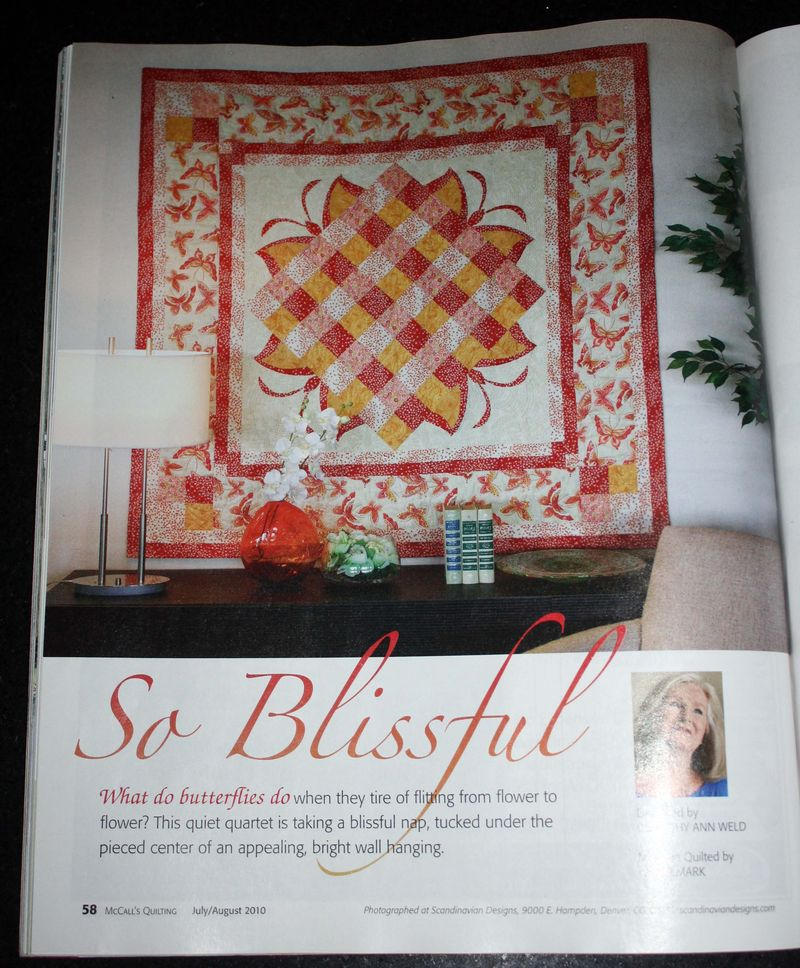 McCalls Mag Butterfly Quilt