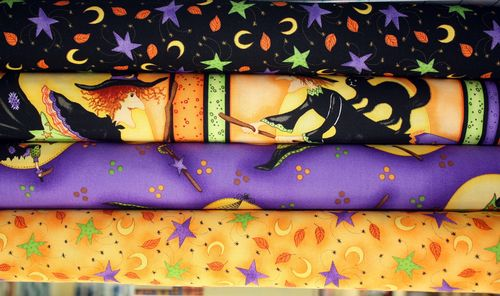Witch Halloween Fabric